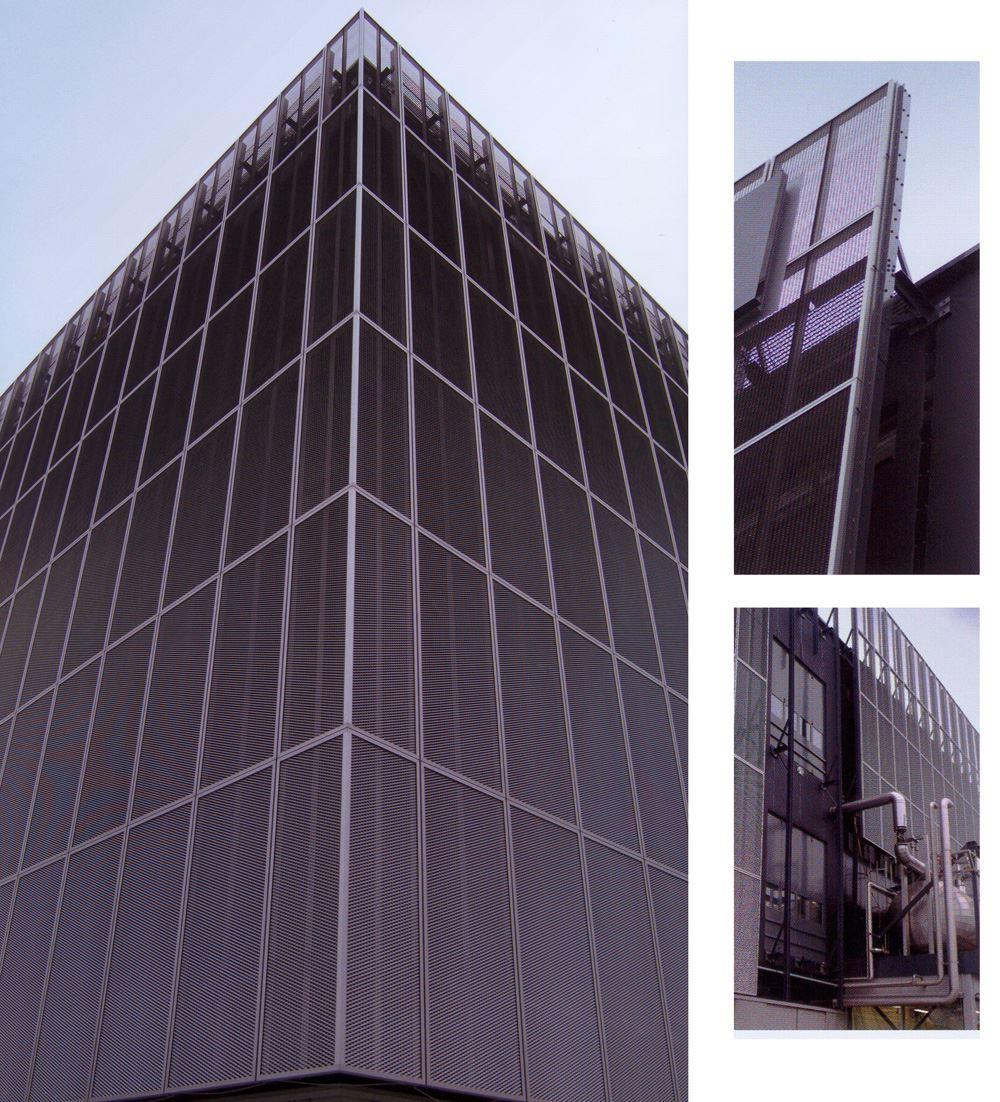Lona técnica aplicada a fachadas textiles