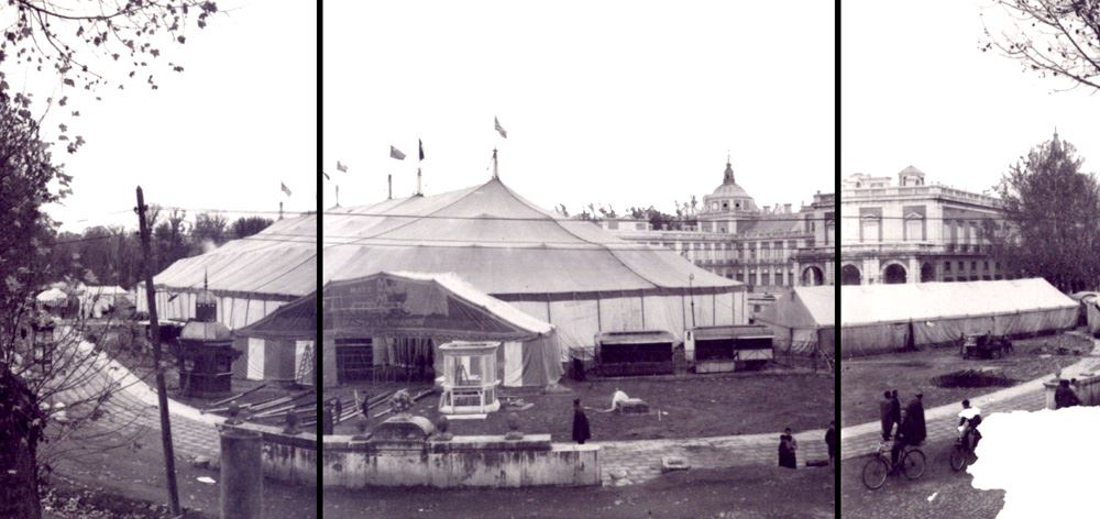Circo construido por Tolder para Samuel Bronston