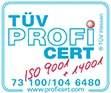 Certificado Tüv ProfiCert Tolder