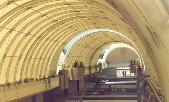 Arquitectura textil centro comercial Cristamar Tolder 2