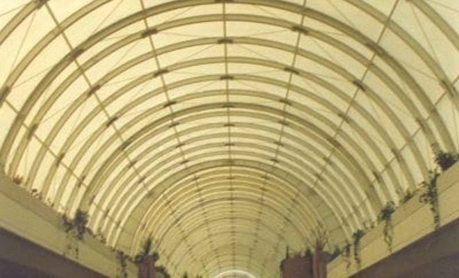 Arquitectura textil centro comercial Cristamar Tolder 8
