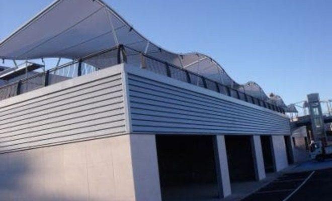 Arquitectura textil centro comercial de Pinto Tolder 5