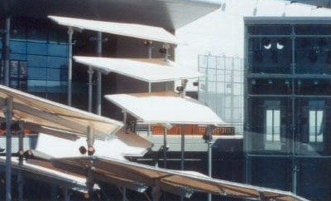 Arquitectura textil centro comercial Nassica Tolder 4