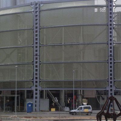 Arquitectura textil incineradora Son Reus Tolder