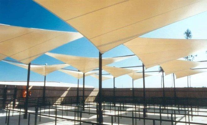 Arquitectura textil Parque Warner Tolder 2