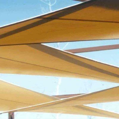 Arquitectura textil Parque Warner Tolder