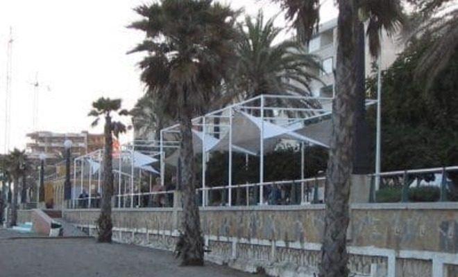 Arquitectura textil paseo marítimo de Estepona Tolder 4