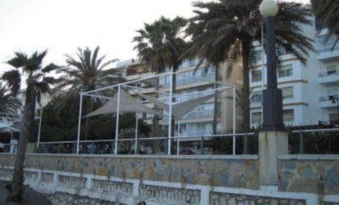 Arquitectura textil paseo marítimo de Estepona Tolder 5
