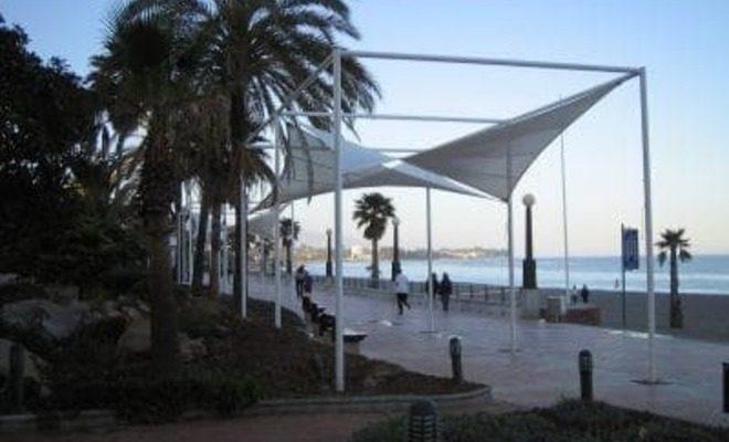 Arquitectura textil paseo marítimo de Estepona Tolder 7