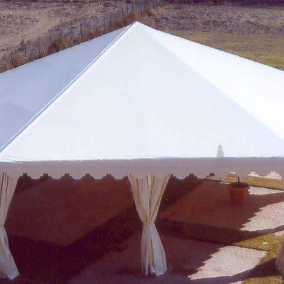 Carpa hexagonal 15 m, 1, Tolder