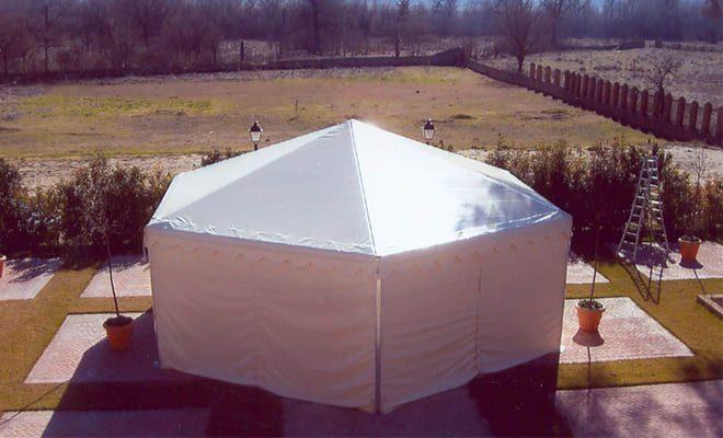 Carpa hexagonal de 10 m, 3, Tolder