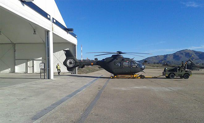 Hangar para helicópteros, 2, Tolder