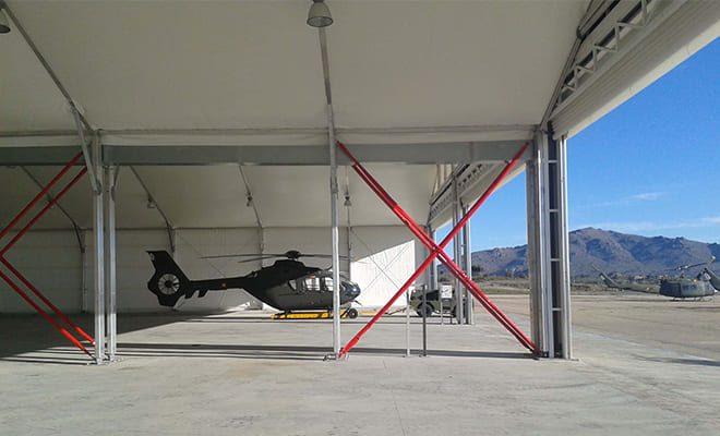 Hangar para helicópteros, 4, Tolder