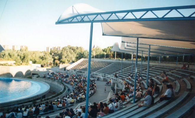 Gradas Delfinario Zoo Madrid Tolder 3