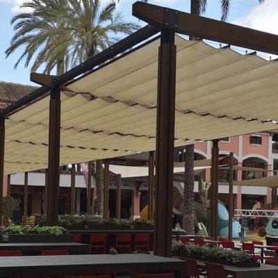 CC Plaza Mayor 16 pérgolas, Tolder