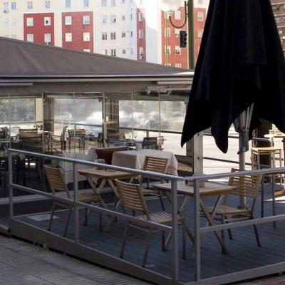 Terraza Restaurante Marbella,1, Tolder