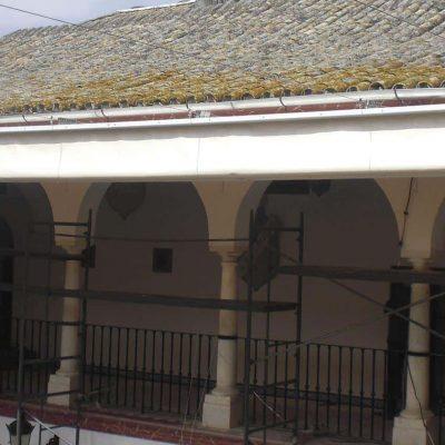 Toldos planos motorizados Monasterio Purísima Concepción Tolder