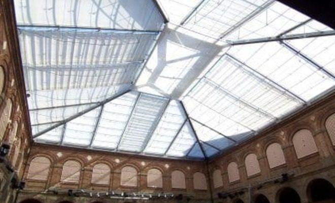 Toldos planos motorizados museo arqueológico Tolder 4