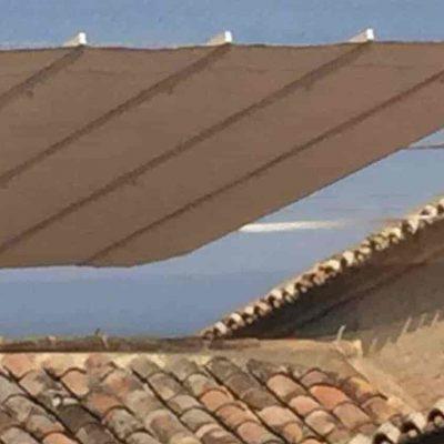 Toldos planos motorizados Palacio de Fuensalida Tolder