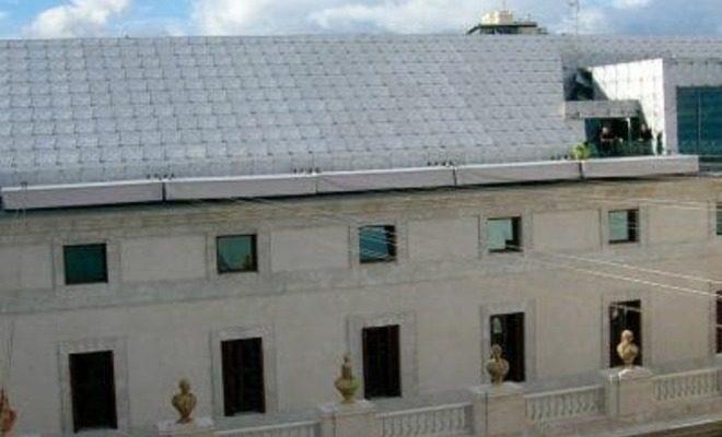 Toldos planos motorizados palacio de la Aduana Tolder 4
