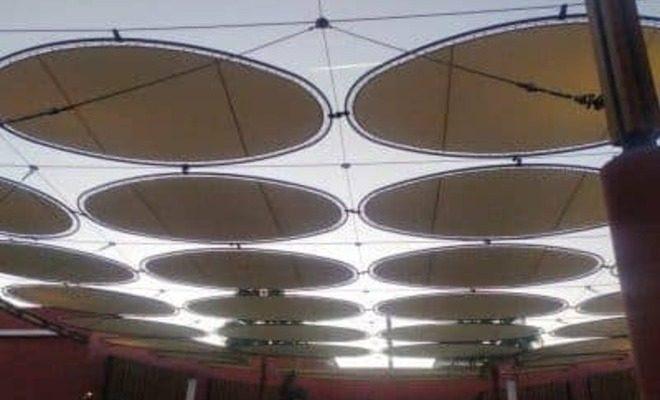 Velas y tensados CC Plaza Mayor plaza rosas Tolder 4